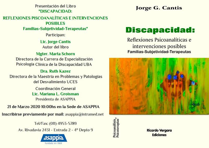 Libro Discapacidad - Lic. Jorge Cantis